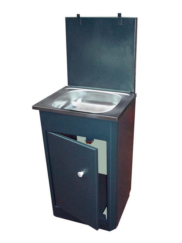 Умывальник Дачный с ЭВН 22 литра (белый/бежевый/медь/асфальт) фото 2