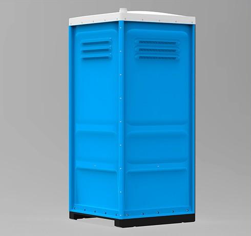Туалетная кабина Lex Group Toypek, синяя фото 3