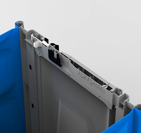 Туалетная кабина Lex Group Toypek, синяя фото 5