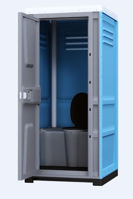 Туалетная кабина Lex Group Toypek, синяя фото 1