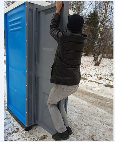 Туалетная кабина Lex Group Toypek, синяя фото 6