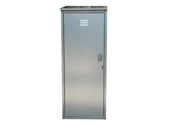 Шкаф для газовых баллонов на 1 баллон 50л (серый) фото 1