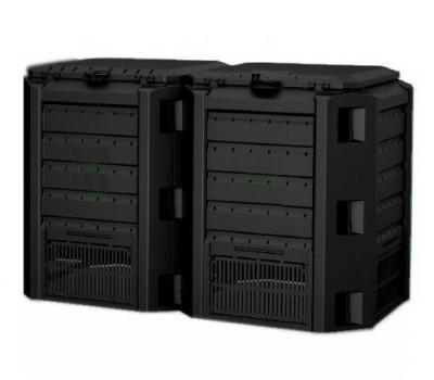 Садовый компостер Prosperplast Module Compogreen 800 л (чёрный)