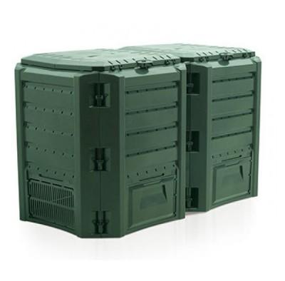 Садовый компостер Prosperplast Module Compogreen 800л (зелёный)