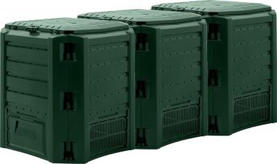 Садовый компостер Prosperplast Module Compogreen 1200л (зелёный)