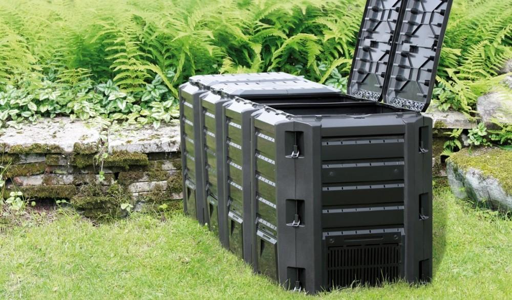 Садовый компостер Prosperplast Module Compogreen 1600л (чёрный) фото 2