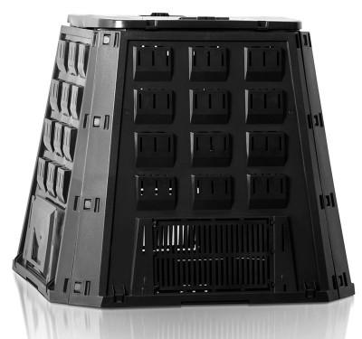 Садовый компостер Prosperplast Evogreen 420л (чёрный)