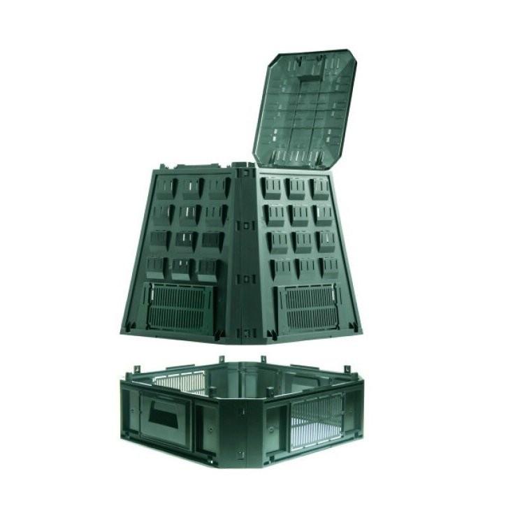 Садовый компостер Prosperplast Evogreen 630 л (зелёный) фото 2